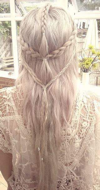 daenerys style hair elven teleri daenerys inspired hair by whetherorno on