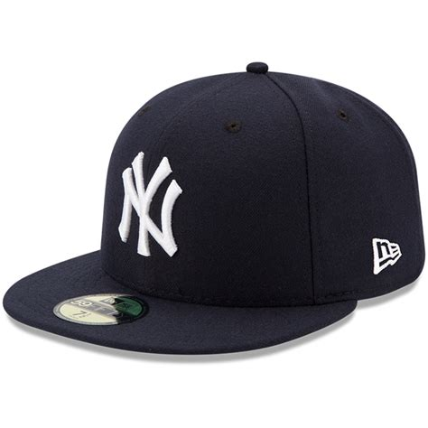 New York Cap by New Era New York Yankees Youth Navy Authentic Collection