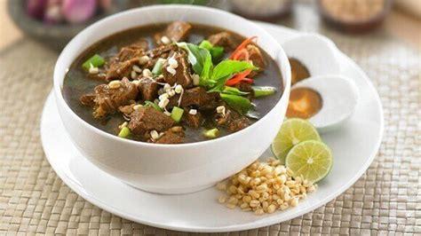 resep rawon daging sapi khas jawa timur masak  hari