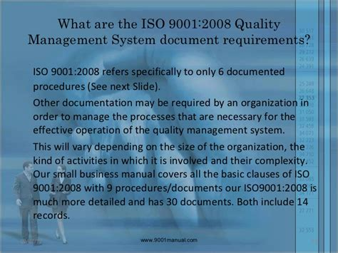 iso 9001 section 8 introduction to iso 9001