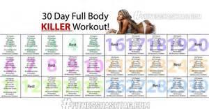 30 day home workout plan 30 day full body killer workout 30 day ab challenge workout 30 day ab workout plan 30 day guns
