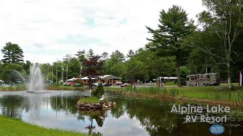 Lake Alpine Cabins by Alpine Lake Rv Resort And Cground Near Lake George New