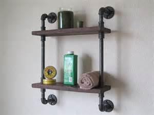 pipe bookshelves bathroom pipe shelf