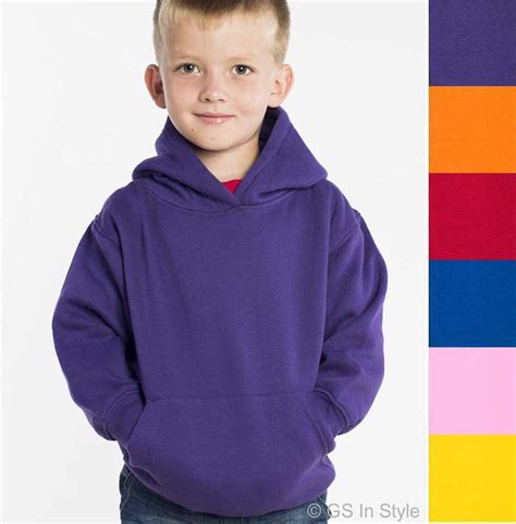 Child Sweatshirt 3 hooded sweatshirt children plain hoodie hoody boy toddler free tracked ebay