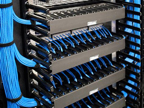 Inter Rack Cabling by Structured Cabling Yc Business Solutions