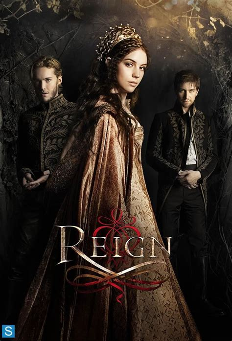 reign promotional poster movies tv pinterest