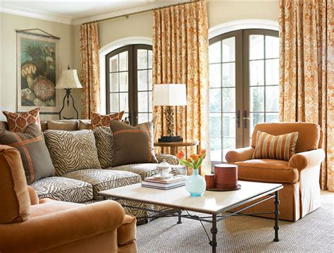 traditional home interiors living rooms decorating with orange an instant me up