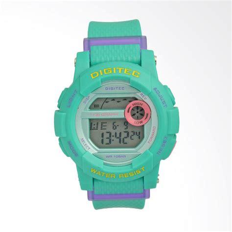 Jam Tangan Wanita Rm Green jual digitec sport dg2074gr jam tangan wanita green harga kualitas terjamin