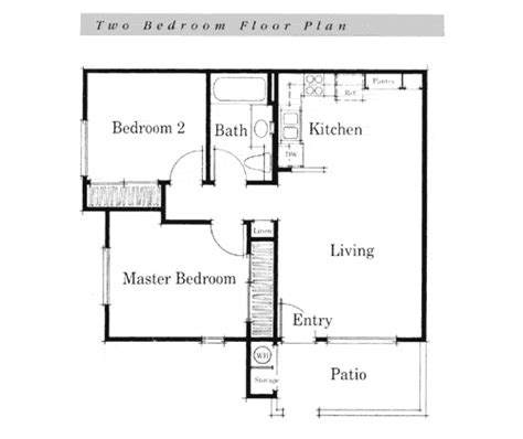 simple house floor plans teeny tiny home