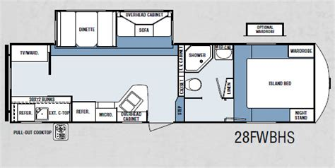 winnebago 5th wheel floor plans 5th wheel caravans winnebago towables
