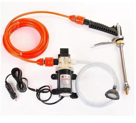 Mesin Steam Irit jual pompa cuci mobil portable tegangan 12v alam