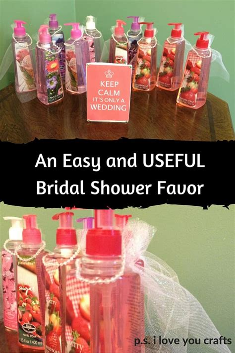 wedding shower favors diy easy diy bridal shower favors p s i you crafts