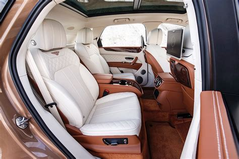 2017 bentley bentayga interior 2017 bentley bentayga review autoevolution
