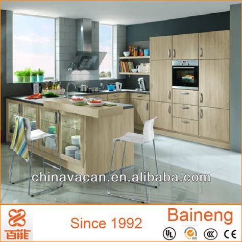 high quality melamine faced chipboard kitchen cabinets