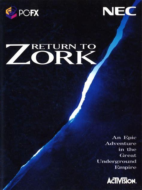 return  zork  pc fx  mobygames