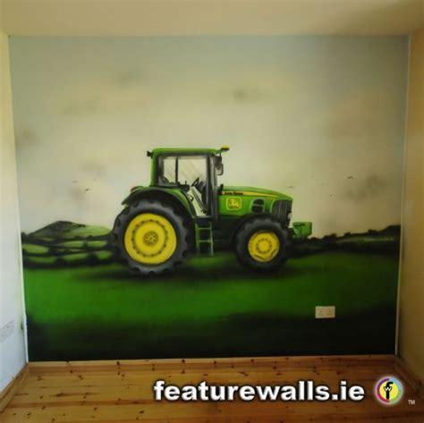 John Deere Wall Murals kids murals childrens rooms decorating kids rooms super