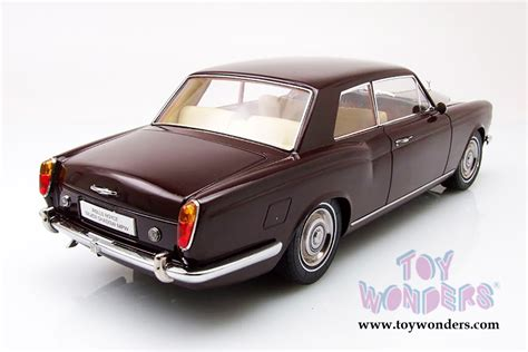 roll royce burgundy rolls royce silver shadow mpw coupe 98204bg 1 18 scale