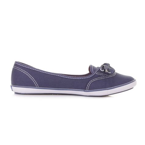 navy flat shoes womens womens keds teacup navy canvas flat shoes pumps plimsolls