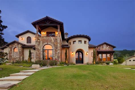 Mediterranean House Plans With Photos by Texas Tuscan Vanguard Studio Inc Austin Texas Architect