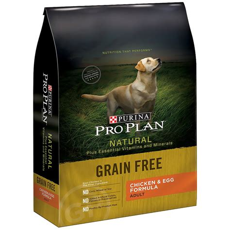 puppy food without chicken purina 174 pro plan 174 grain free chicken egg food 24 lb