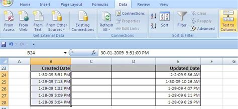 select format date php convert datetime to date in excel 2013 excel trick