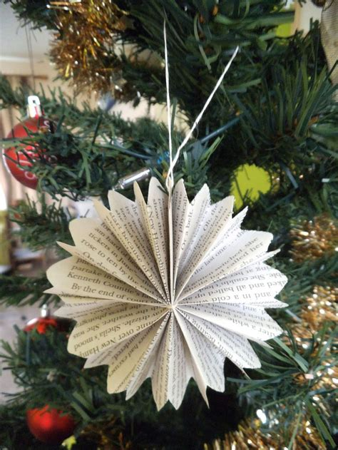 30 beautiful paper christmas decorations ideas