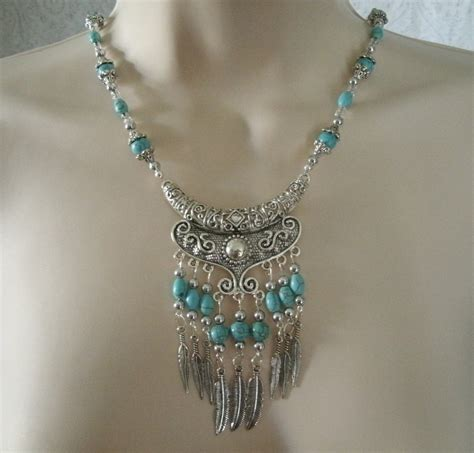how to make turquoise jewelry turquoise necklace southwestern jewelry southwest jewelry