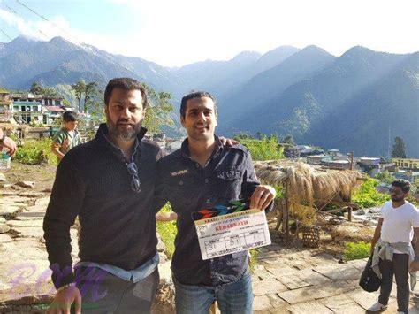 actress of kedarnath producer arjun n kapoor and director abhishek kapoor on