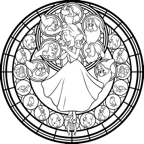 sg snow white line art by akili amethyst on deviantart