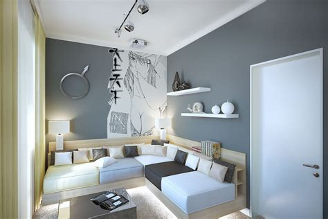 Gray Room Decor Gray White Styleliving Room Interior Design Ideas