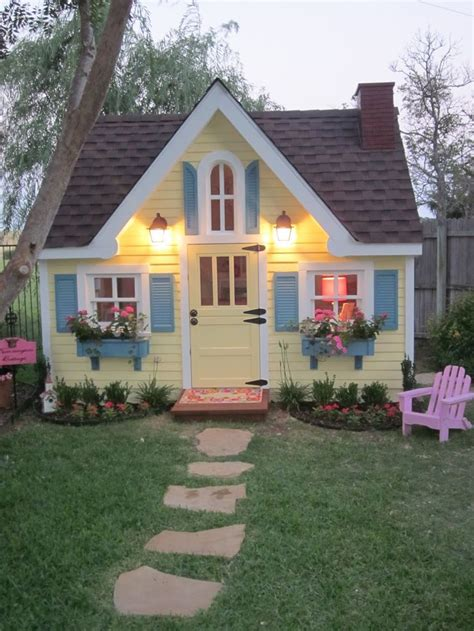 backyard cottage playhouse 10 amazing outdoor playhouses every kid would love mum s