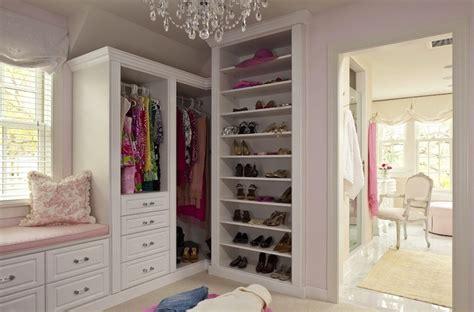 Pink Walk In Closet by White Dove Walk In Closets Pink Interior Designs