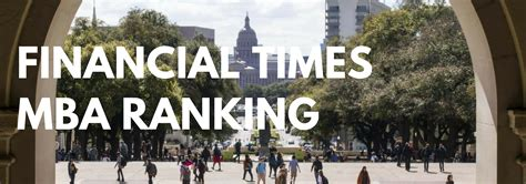 Ft Mba by Financial Times Mba Rankings Metromba