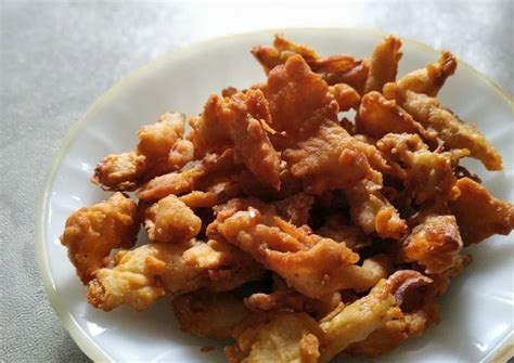 resep jamur crispy oleh ayu  cookpad
