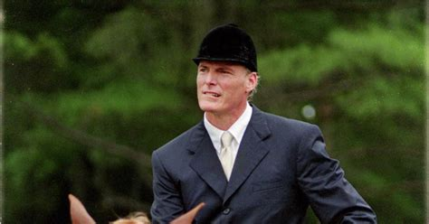 News For Christopher Reeves reeve is severely injured after a in 1995