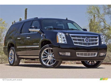 2012 Cadillac Escalade Esv Platinum by Black 2012 Cadillac Escalade Esv Platinum Awd