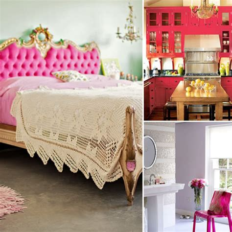 hot pink home decor hot pink decorating photos popsugar home