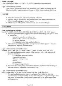 resume for a administrative assistant susan