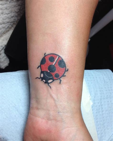 ladybug tattoos on wrist 21 ladybug designs ideas design trends