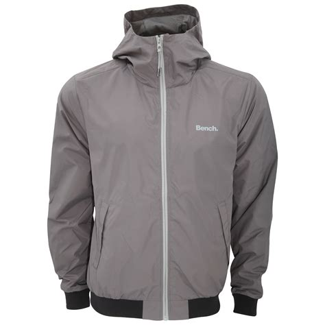 bench coats for men bench mens pastance zip up water repellent jacket ebay
