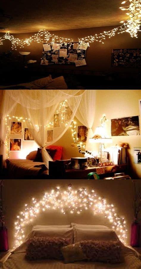 ideas romantic bedroom christmas light