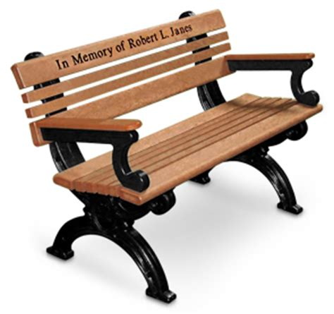 recycled plastic memorial benches cambridge recycled plastic park benches memorial bench
