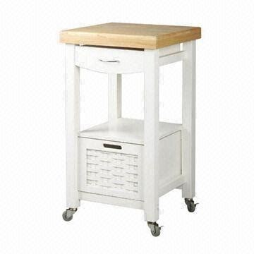 kitchen cart with drawer cabinet in color made