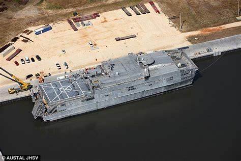 catamaran ventures online test the navy s 2 1bn hi tech catamarans get damaged by waves