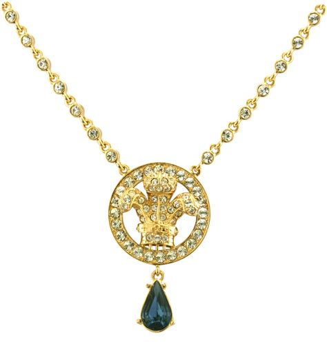 princess collection prince of wales necklace crowns