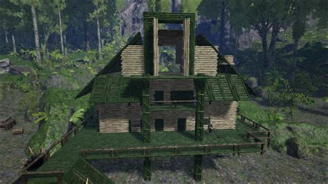 ark house designs ark survival evolved rp hunter s hut