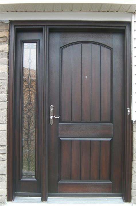 Unfinished Wood Exterior Doors Fabulous Unfinished Wood How To Stain Front Door