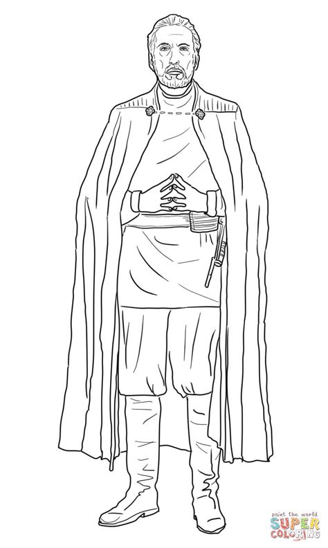 Count Dooku coloring page | Free Printable Coloring Pages