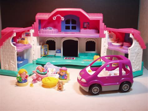 little people doll house fisher price little people sweet sounds dollhouse car dollhouses