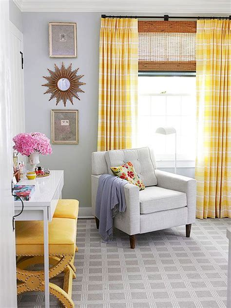 Yellow Walls Blue Curtains Decorating 25 Best Ideas About Yellow Curtains On Yellow Apartment Curtains Yellow Bedroom